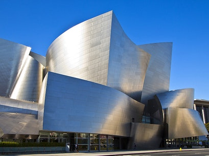 Walt Disney Concert Hall Los Angeles California United States