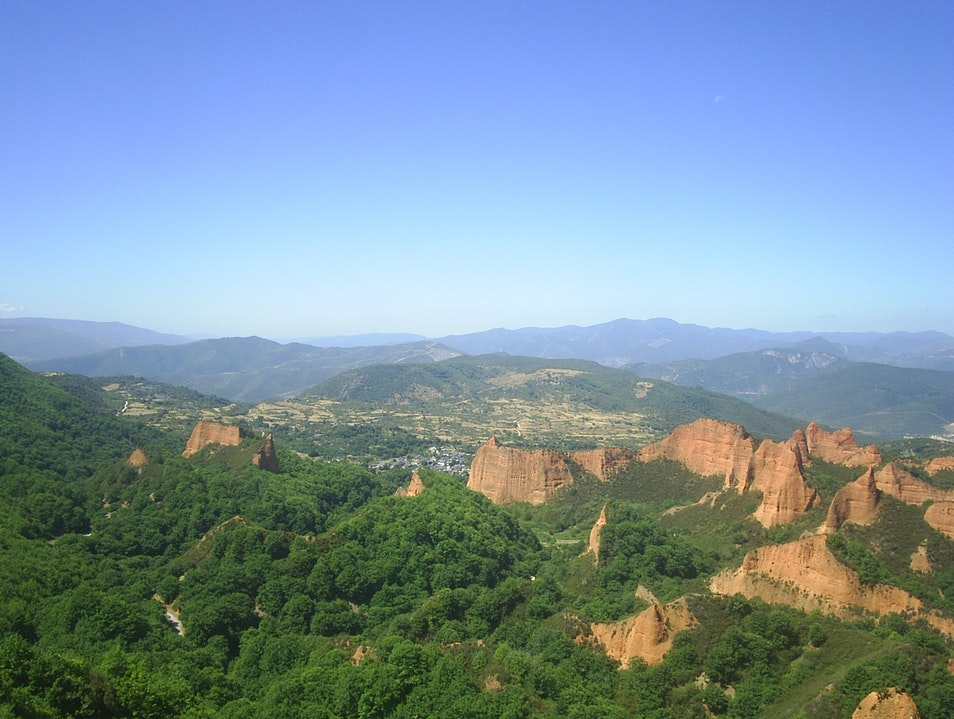 Wonder at the remains of a Roman gold mine in Northern Spain