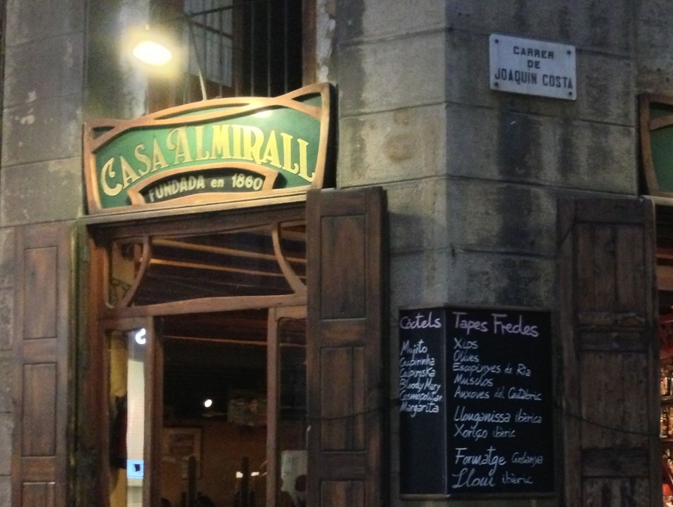 Get cozy over a few drinks Barcelona  Spain
