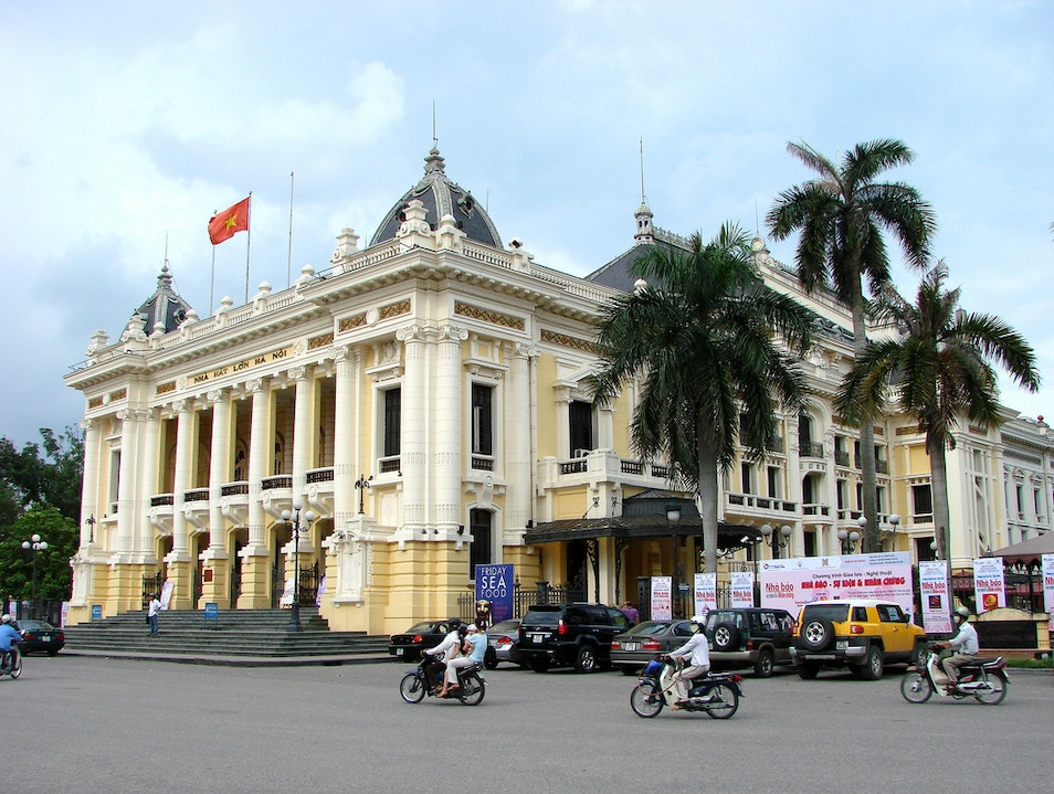 A Night At The Opera House Hanoi  Vietnam