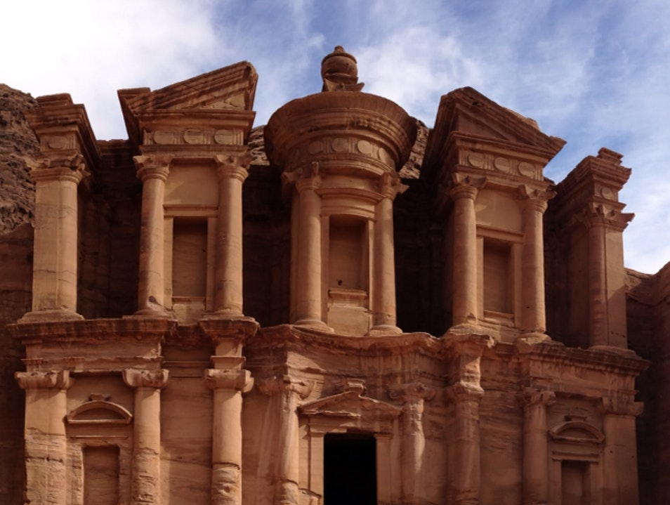The Monastery at Petra Maan  Jordan