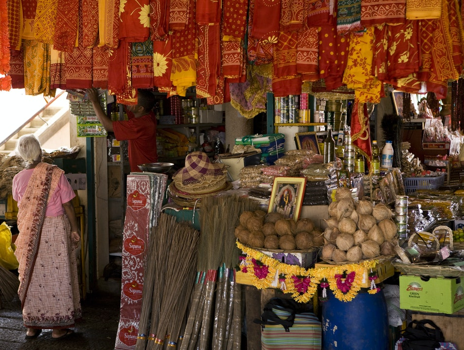 Engage in Competitive Haggling at the Port Louis Grand Bazaar