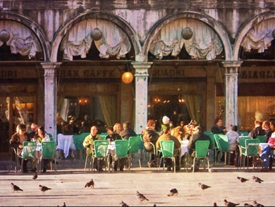 Opulent Historic Cafe right on St Mark's Square