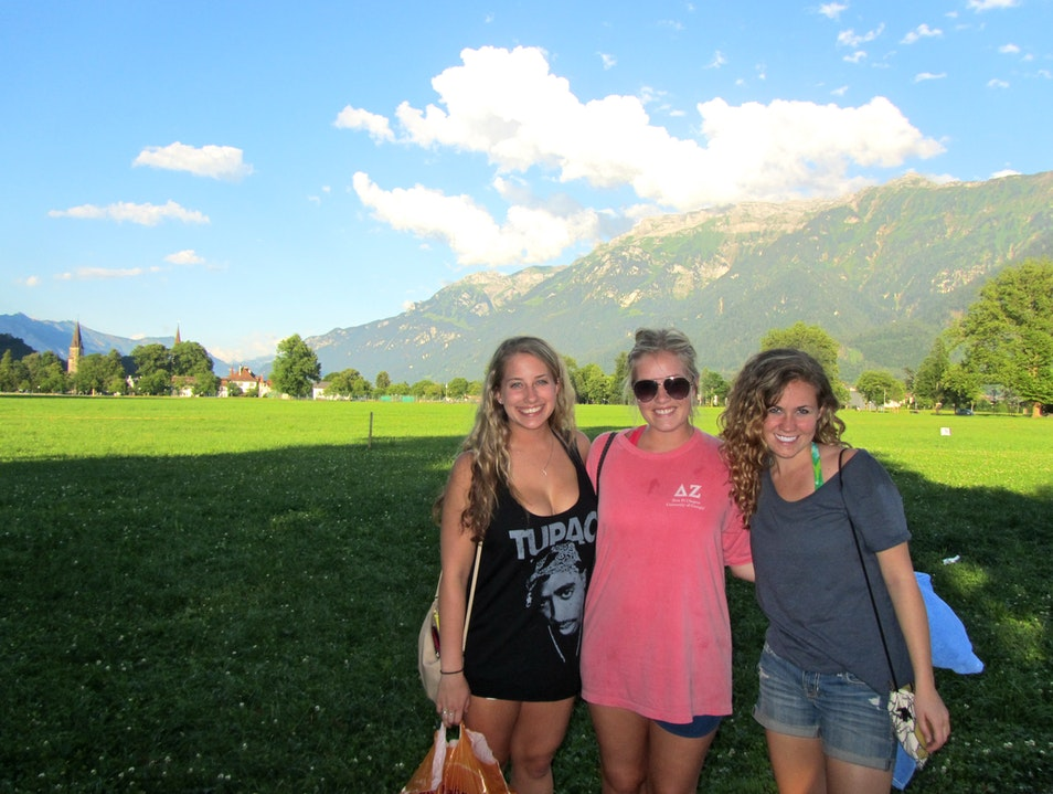 Right after canyoning in Interlaken, Switzerland