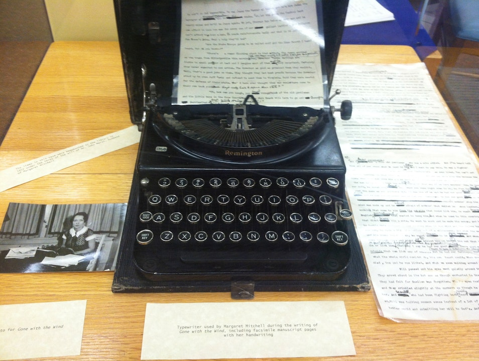 Collection of Margaret Mitchell's Belongings
