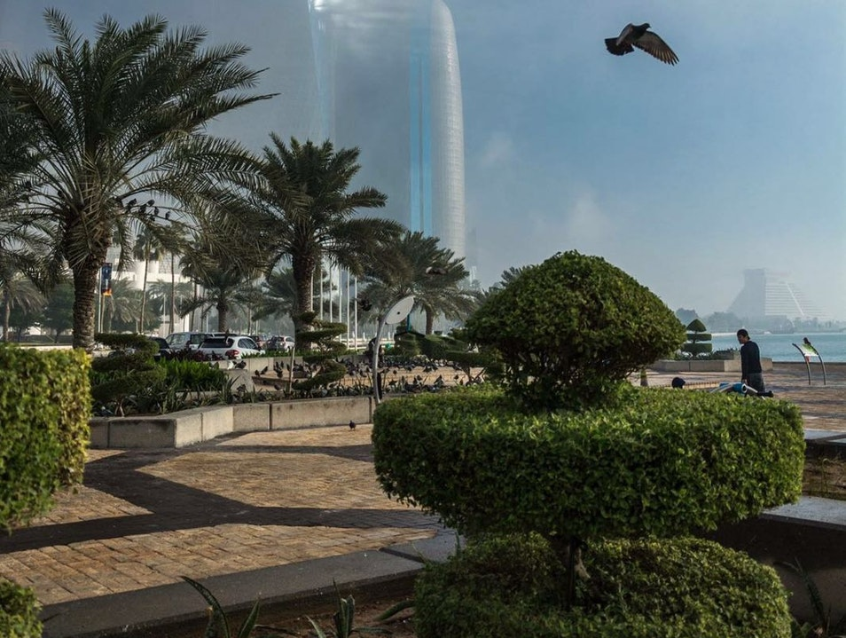 Strolling the Most Beautiful Five Miles of the City Doha  Qatar