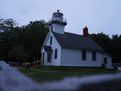 Old Mission Point Lighthouse Traverse City Michigan United States