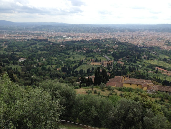 Views of Florence from a Hilly Etruscan Town