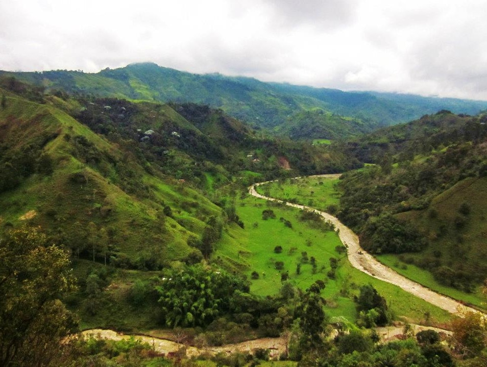 The real coffee country Salento  Colombia