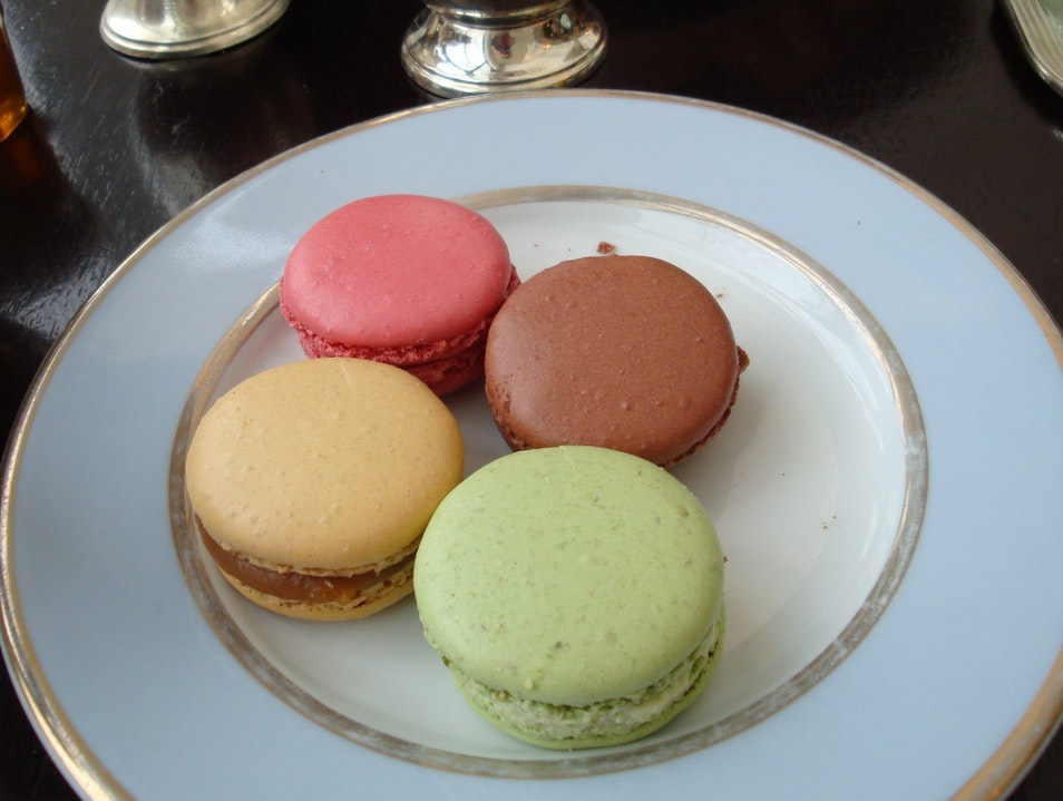 Macaroons and People Watching at Ladurée Paris  France