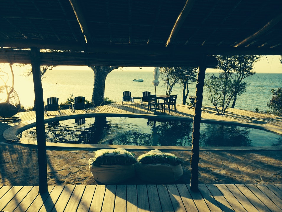 A relaxing spot after Safari.....a private island