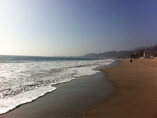 Thanksgiving Walk @ Malibu