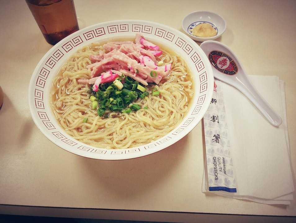 Try the Hawaiian Ramen at Hamura Saimin Līhuʻe Hawaii United States