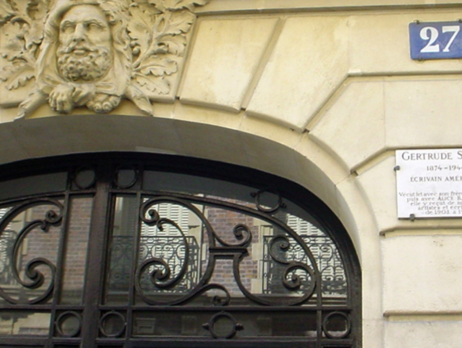 In the footsteps of giants: Gertrude Stein's Paris salon