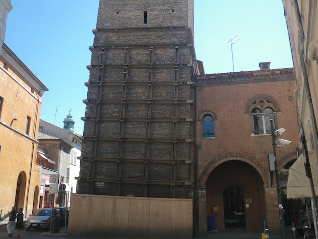 Leaning towers of Ravenna