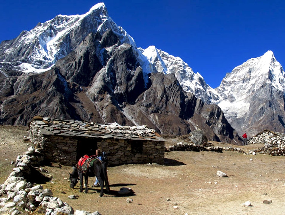 Stillness at 14,272 ft in the Himalayas