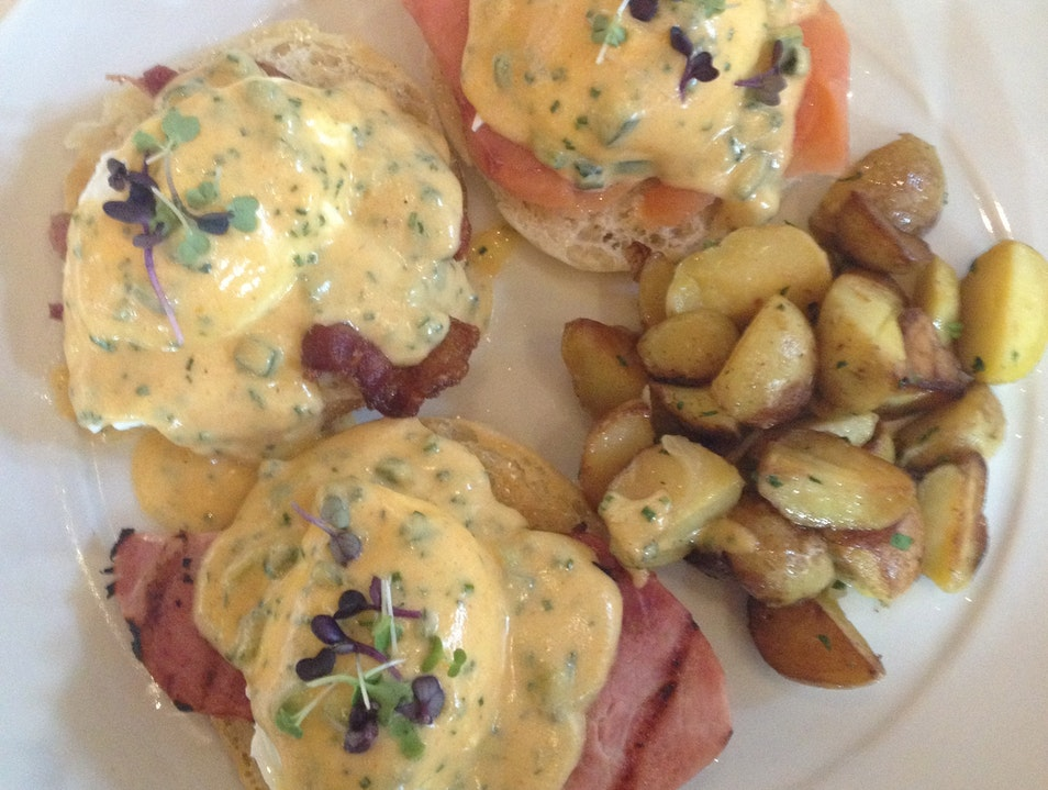 Thousand Dollar Eggs Benedict