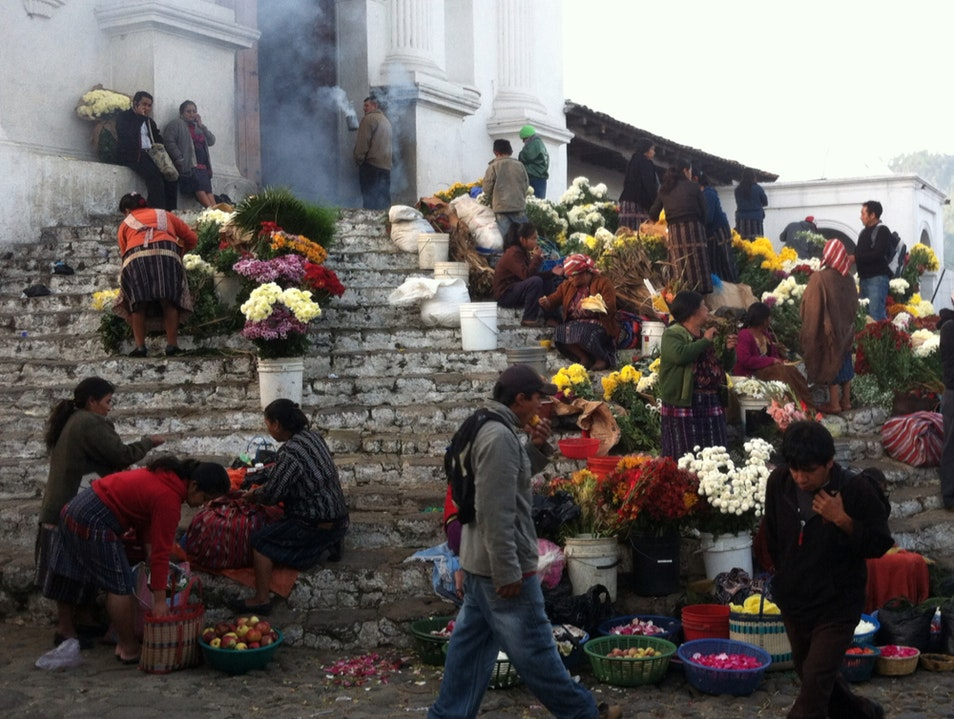 Chichicastenango On Market Day