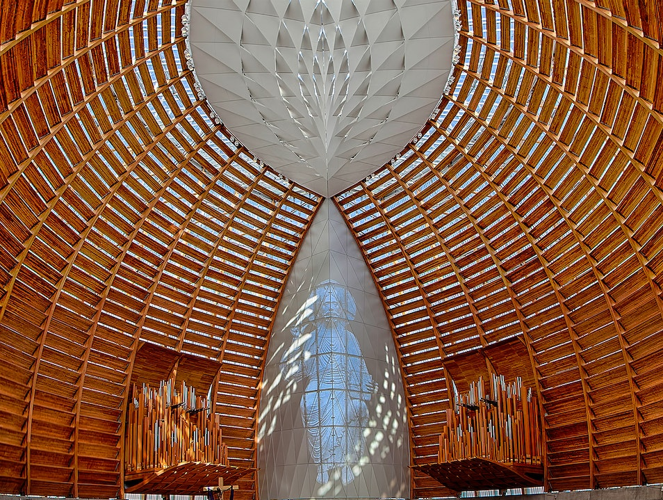 An amazing spectacle in western architecture.