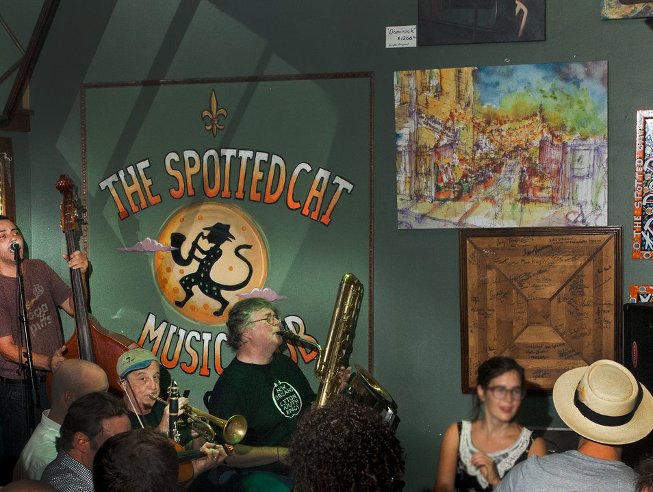 The Spotted Cat Music Club