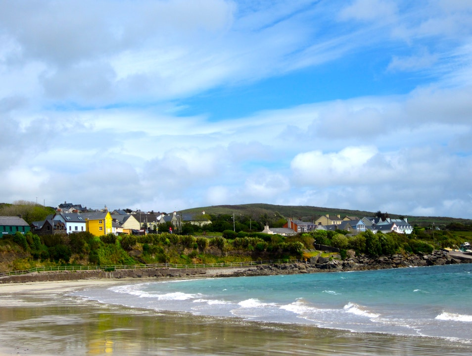 The Colorful Dingle Beach
