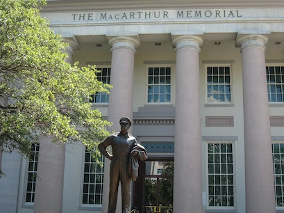 The MacArthur Memorial Museum Norfolk Virginia United States