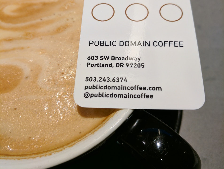 Public Domain Coffee Portland Oregon United States