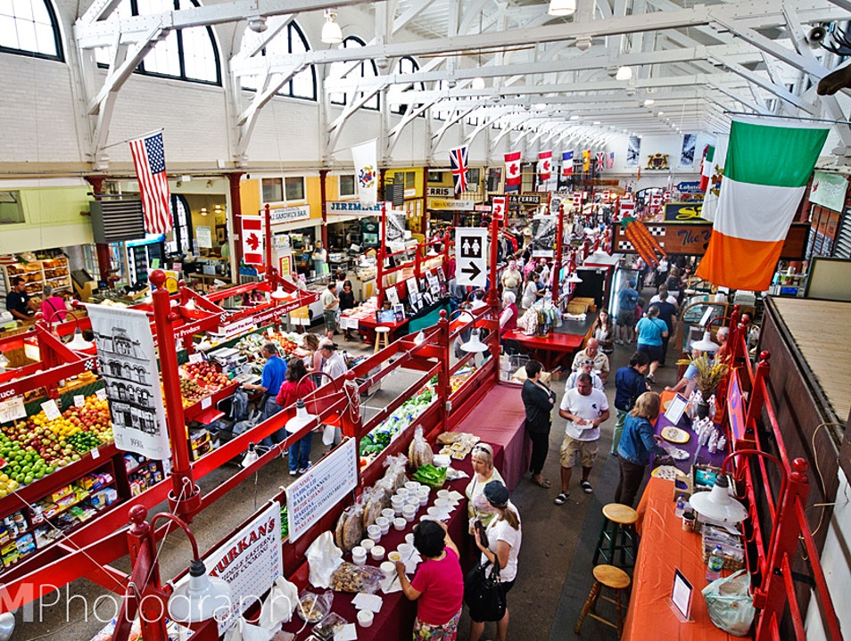 Foodie Delights in Canada's Oldest Market Saint John  Canada
