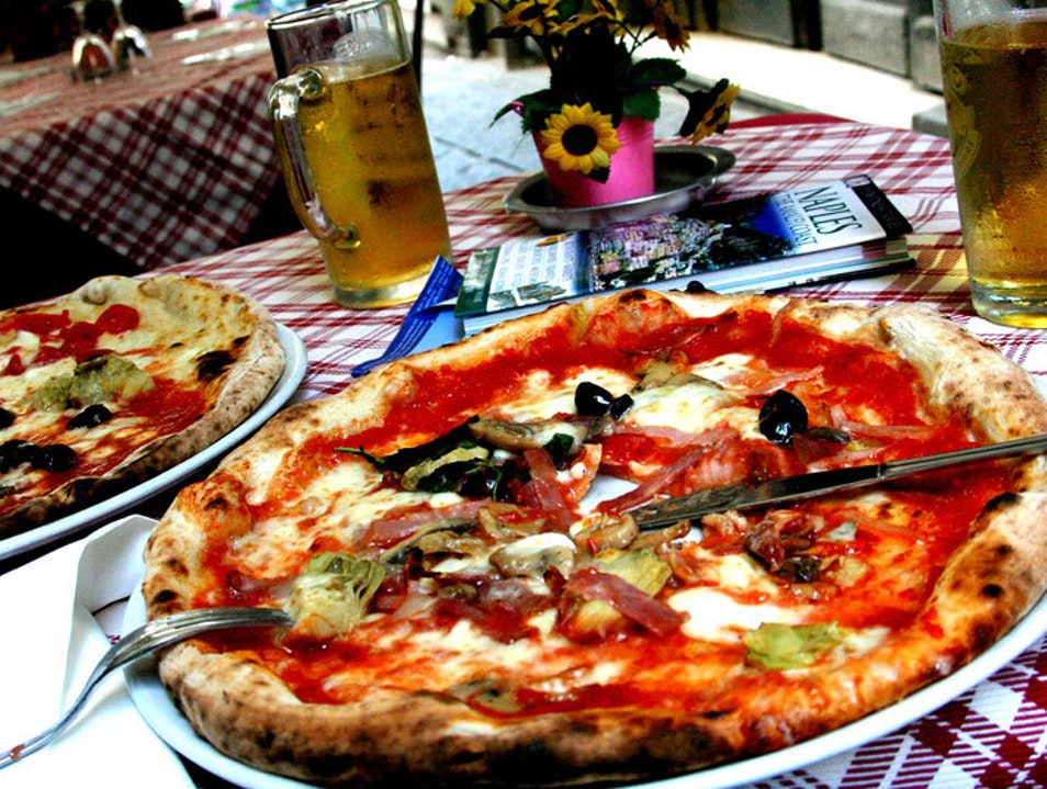 Pizza was born here! Naples  Italy