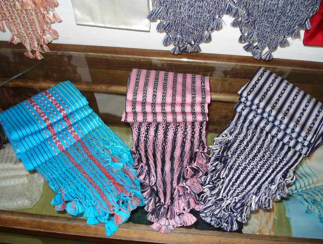 Traditional textiles in Malinalco