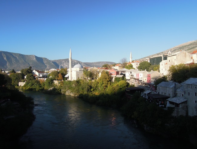 Weekending in Old Town Mostar, Bosnia