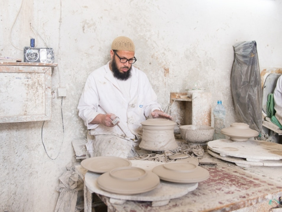 Quartier de Poterie | Moroccan Pottery Workshop Tour Fes  Morocco