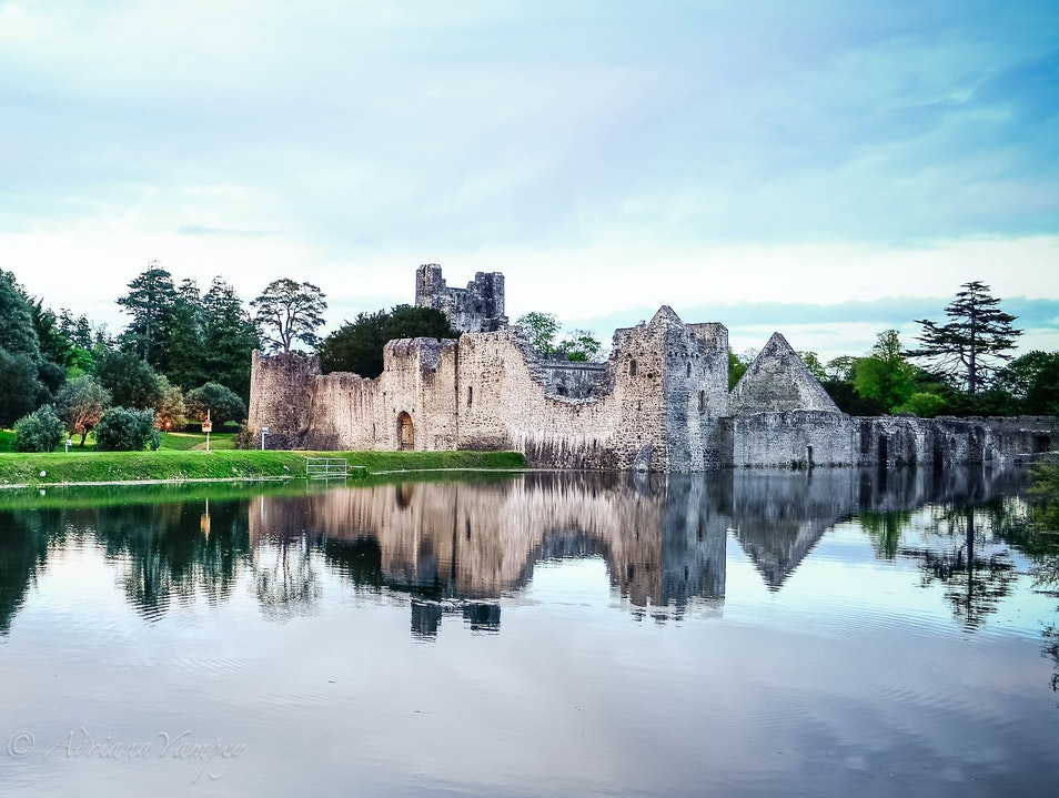 Ruins of Desmond Castle Adare  Ireland