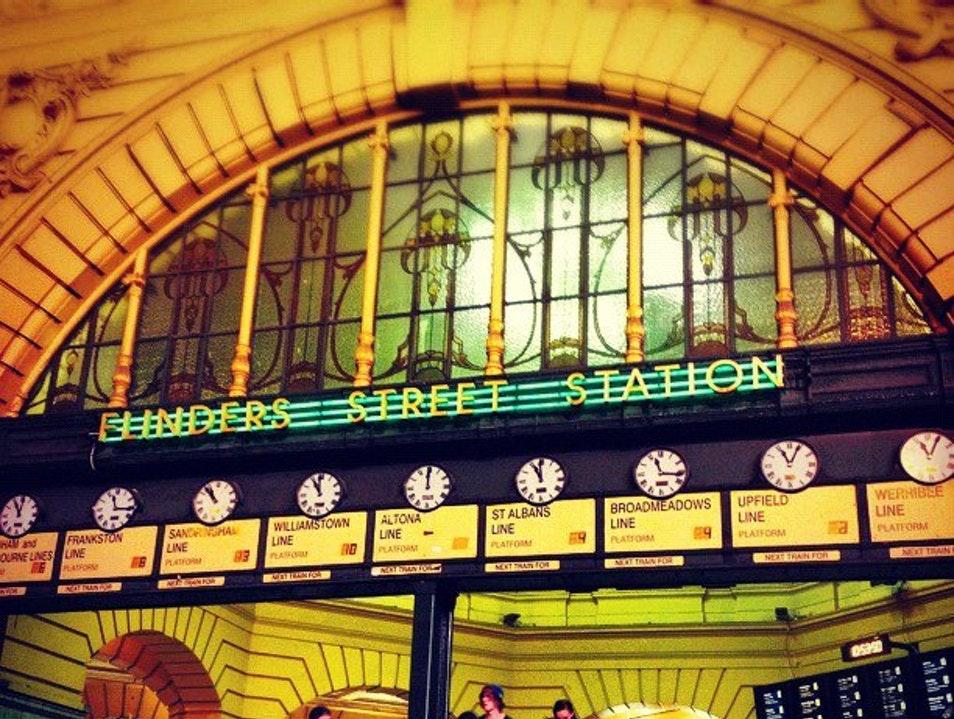 A Melbourne Tradition: Meeting Under the Flinders Street Station Clocks Melbourne  Australia