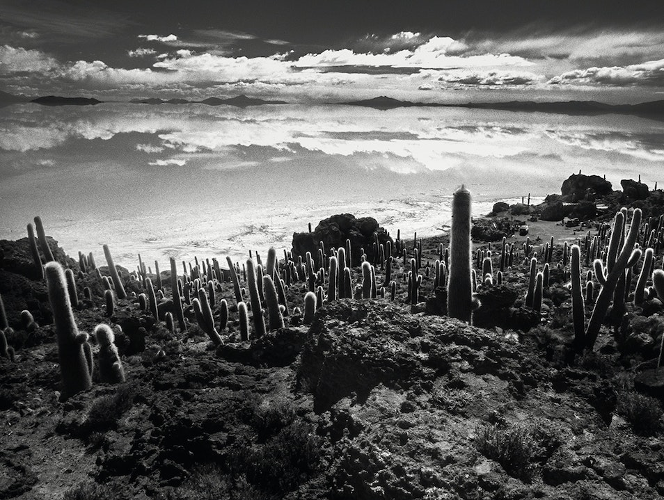 You cannot distinguish the sky from the ground! Daniel Campos  Bolivia