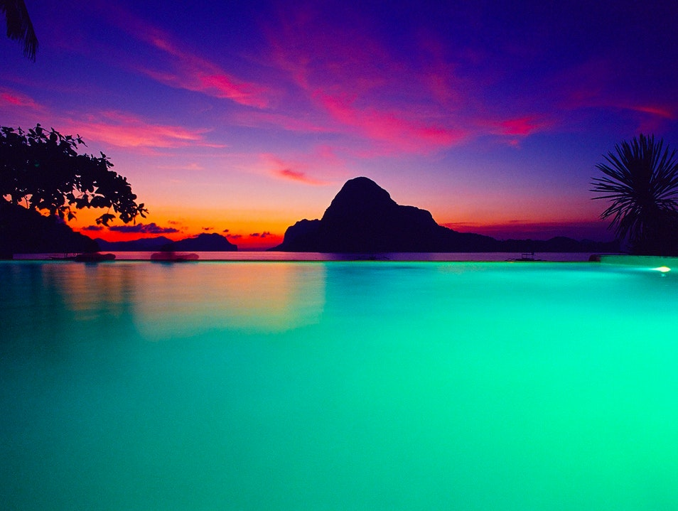 Pool With a View - El Nido, Philippines El Nido  Philippines