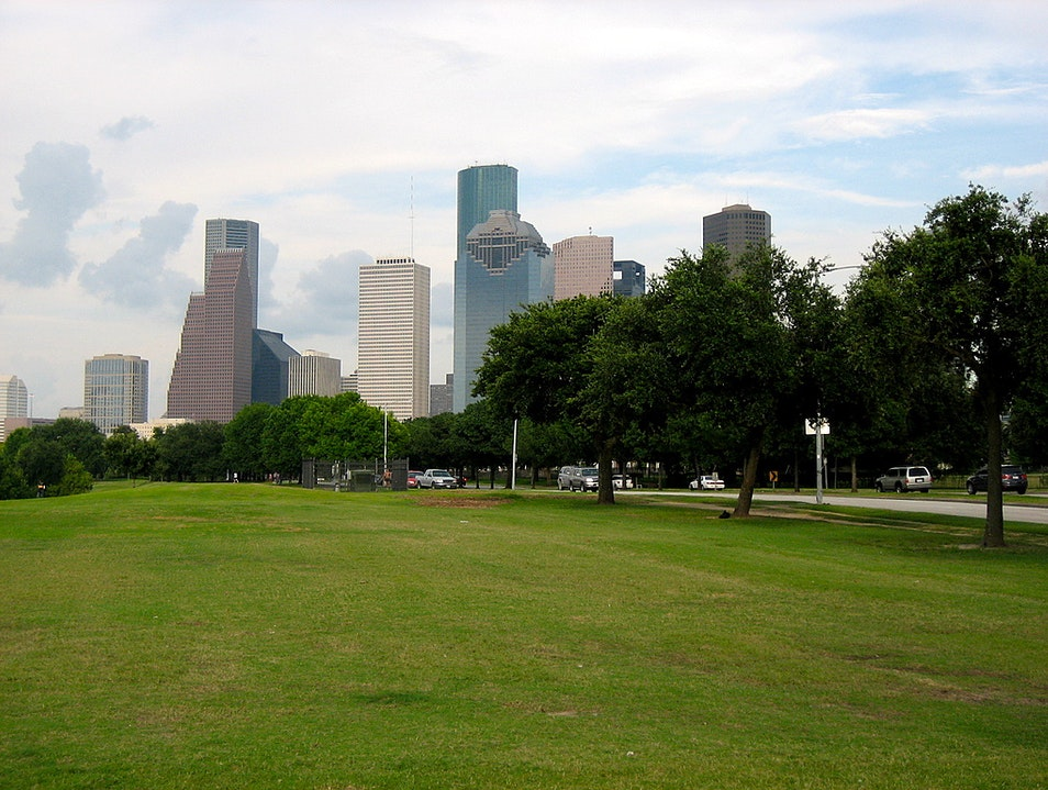 Jog or Bike Along the Bayou Houston Texas United States