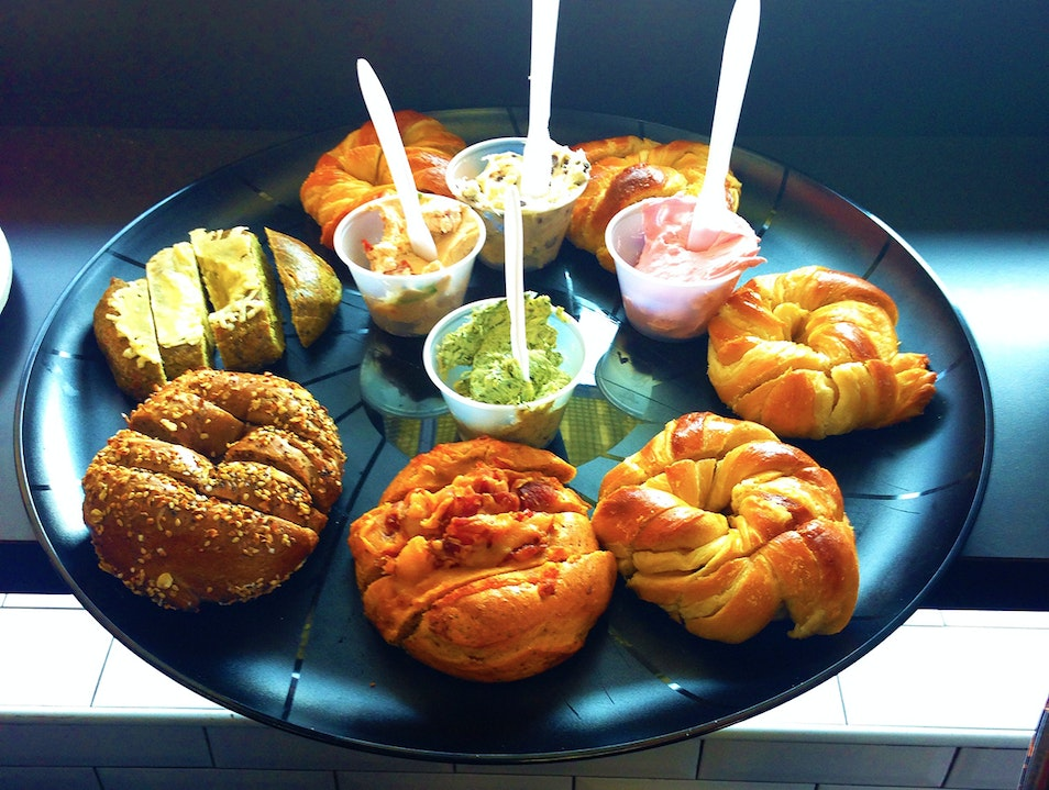 Creative and Delicious Bagels and Cream Cheeses