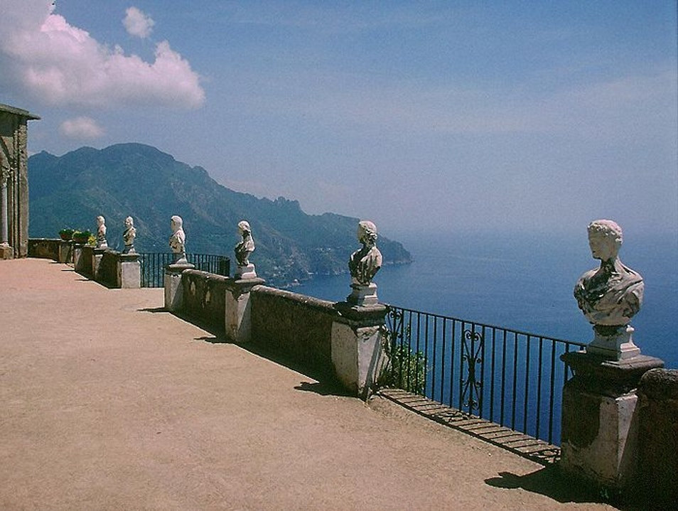 To Infinity and Beyond at Villa Cimbrone Ravello  Italy