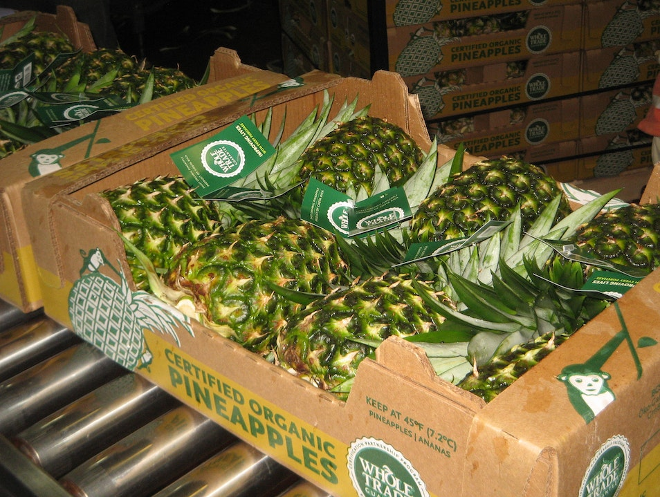 Pineapples Galore!   Costa Rica