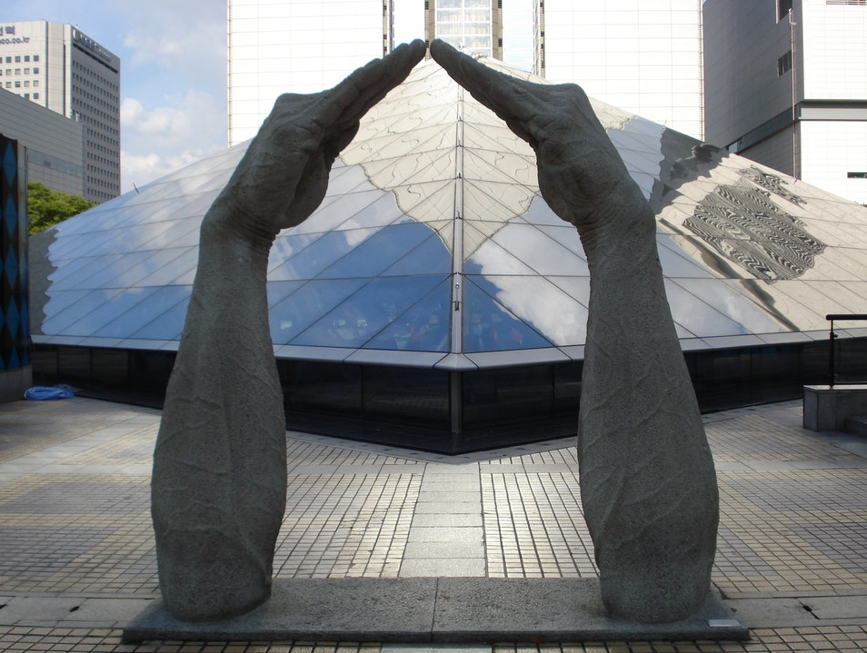 Public Art Reigns in Seoul Seoul  South Korea
