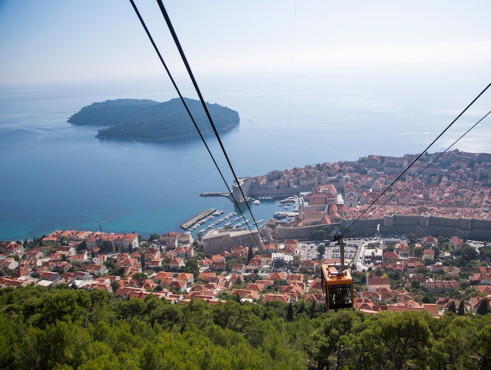 Dubrovnik Cable Car Dubrovnik  Croatia