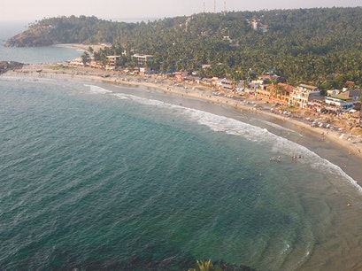 Kovalam Beach Thiruvananthapuram  India