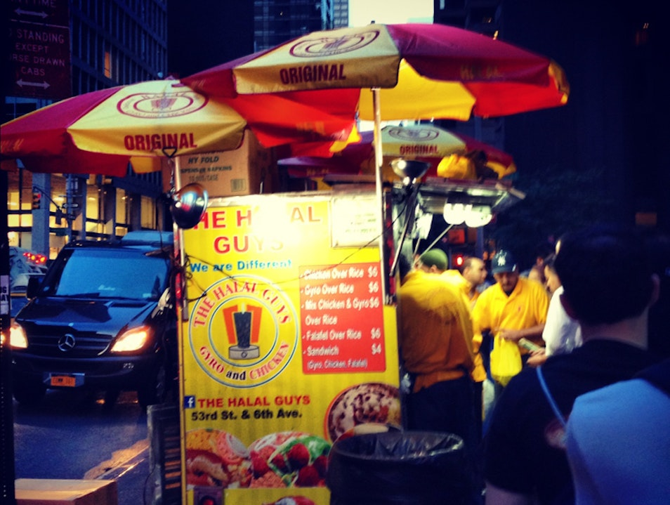 Halal Guys in New York City New York New York United States