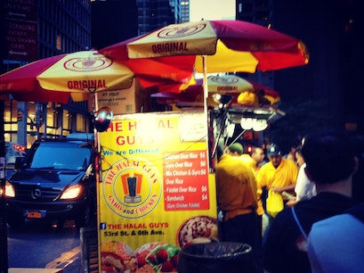 Halal Guys New York New York United States