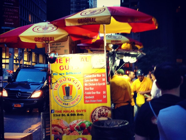 Halal Guys in New York City