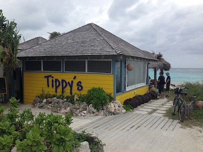 Tippy's Restaurant, Bar & Beach Tarpum Bay  The Bahamas
