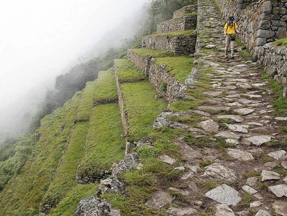 Approach To Machu Picchu Urubamba  Peru