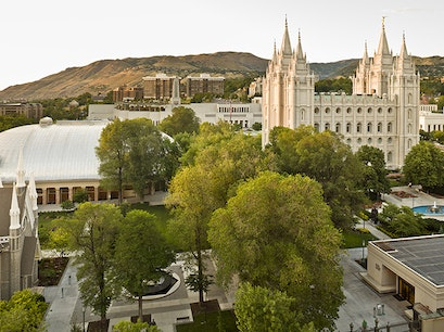 Temple Square Salt Lake City Utah United States