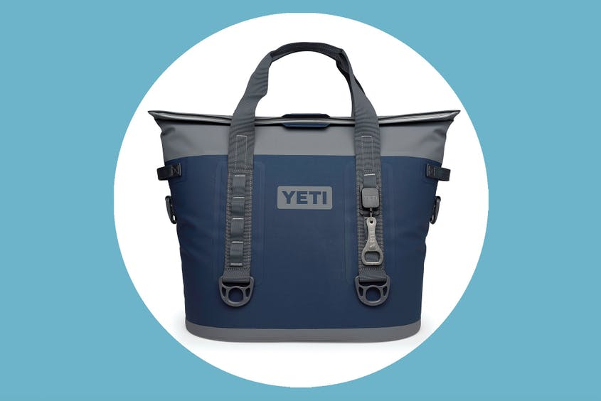 The Yeti Hopper M30 is available in navy (seen here), as well as